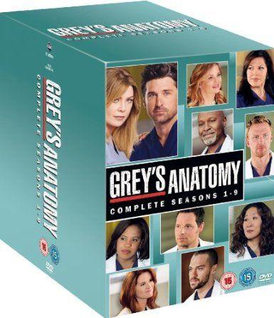 Grey\'s Anatomy - Season 1-9 Complete Box Set [DVD]: Amazon.co.uk ...