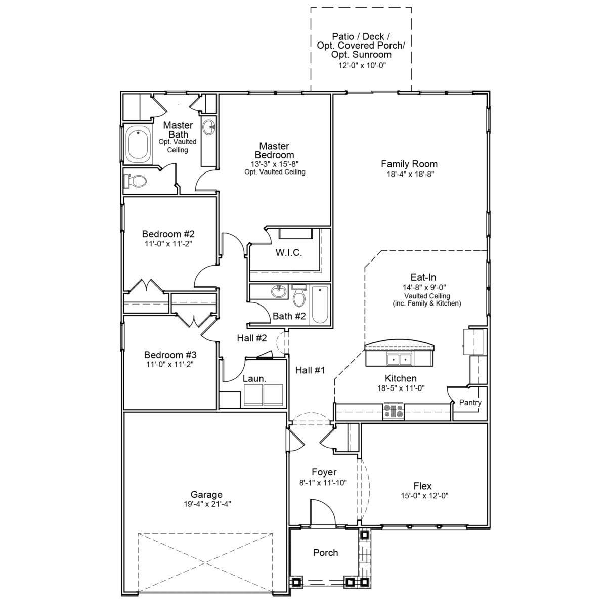 Dalton Mungo Homes House Floor Plans Small House Plans House Plans