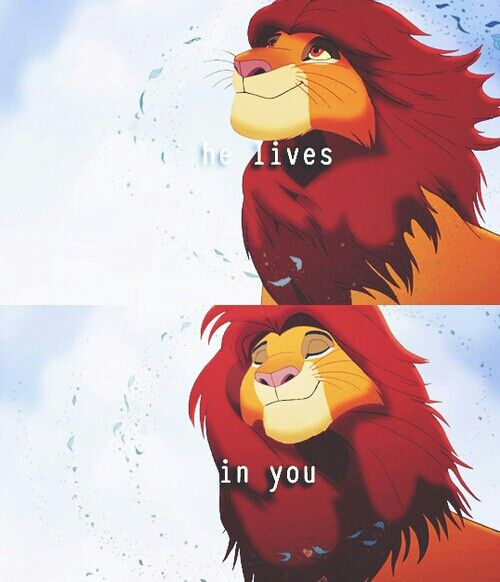 He Lives In You A Message From God Disney Lion King Lion King Quotes Lion King