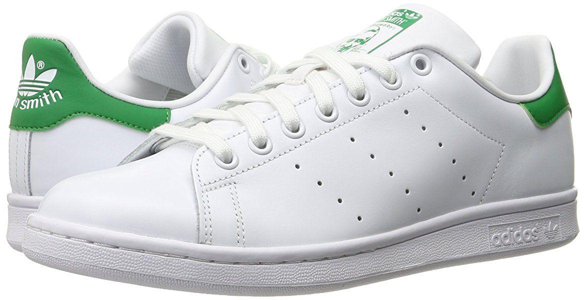 gli originali adidas stan smith scarpa, bianco / bianco / fairway mio