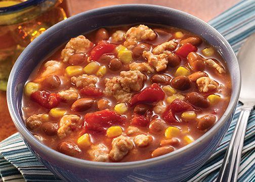 Quick Bean Recipes, Healthy Bean Recipes, Easy Chili Recipes