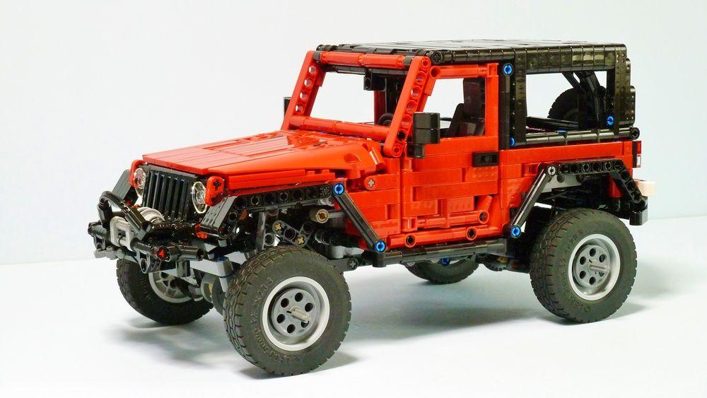 Jeep Wrangler Lego Technic Truck Lego Truck Jeep Wrangler