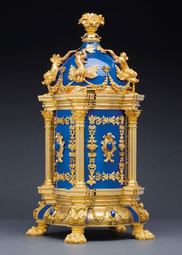 PATEK PHILIPPE 'THE ROYAL BLUE - MASTERPIECE DOME CLOCK'