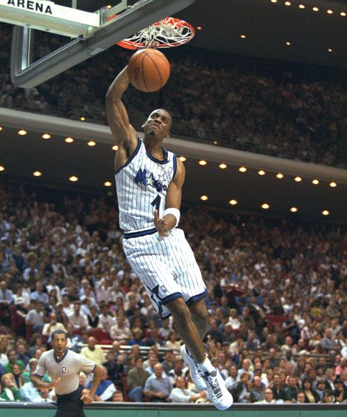 Anfernee penny hardaway orlando magic 19931999 basketball todays pro hoops history hof spotlight belongs to the superb anfernee penny hardaway sciox Gallery