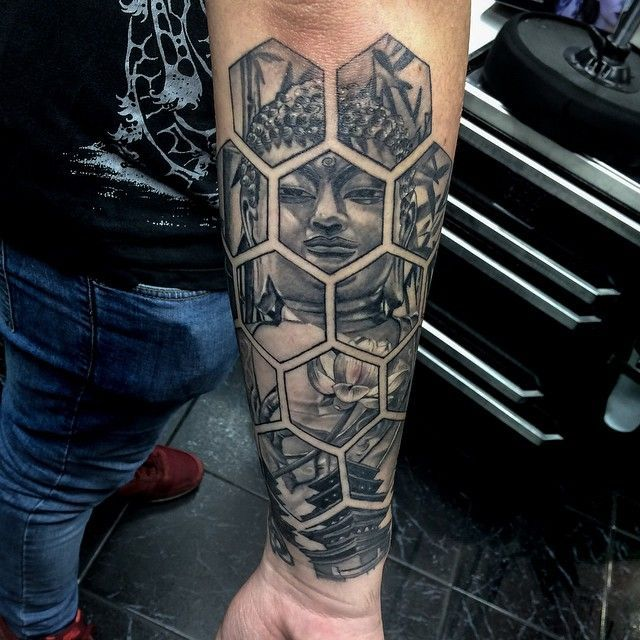 Awesome Geometric Tattoo 131 Buddha Tattoo Designs That Simply Get It Right Buddha Tattoo Design Buddha Tattoo Tattoos For Guys