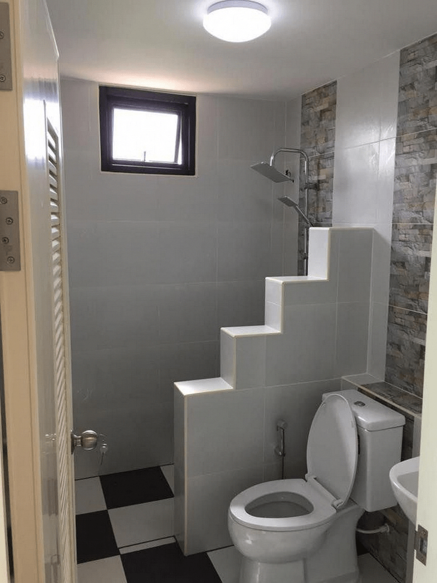 Tiny Bathroom Remodel Before And After Bathroom Remodel Tiny In 2020 Bathroom Design Inspiration Tiny House Bathroom Small Bathroom Makeover