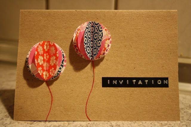 Invitation card idea