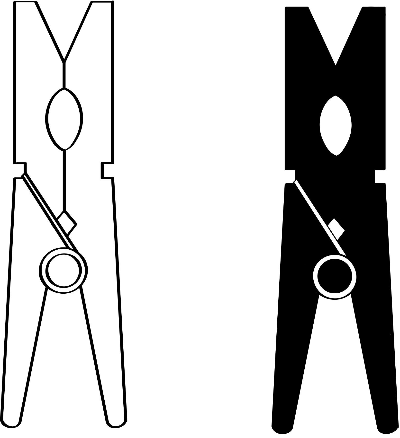 Trends For Gt Clothespin Clipart