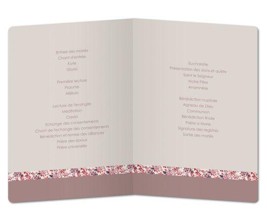 Exemple De Livret De Messe Mariage A Imprimer Gratuit