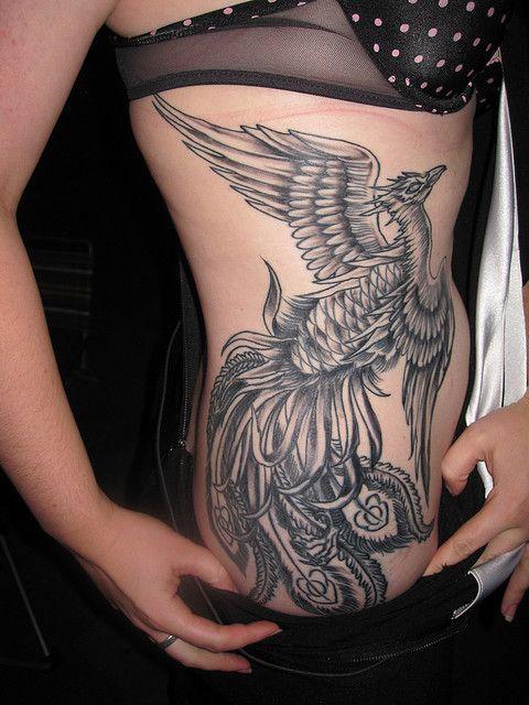 101 Tatuagens Com O Pássaro Mitológico Fênix Desenhos De