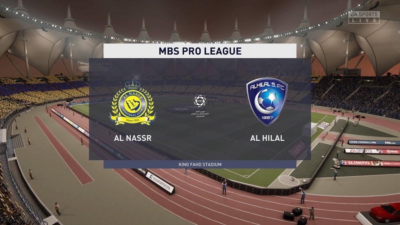 مشاهدة مباراة الهلال والنصر بث مباشر اليوم في الدوري السعودي In 2021 Match Of The Day Ea Sports King Fahd