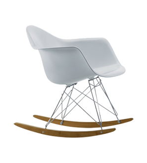 Eames Rar White Chaise A Bascule Chaise A Bascule Eames Fauteuil Eames