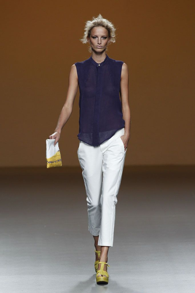 Sara Coleman - Pasarela Mercedes-Benz Fashion Week Madrid ...primavera/verano 2014