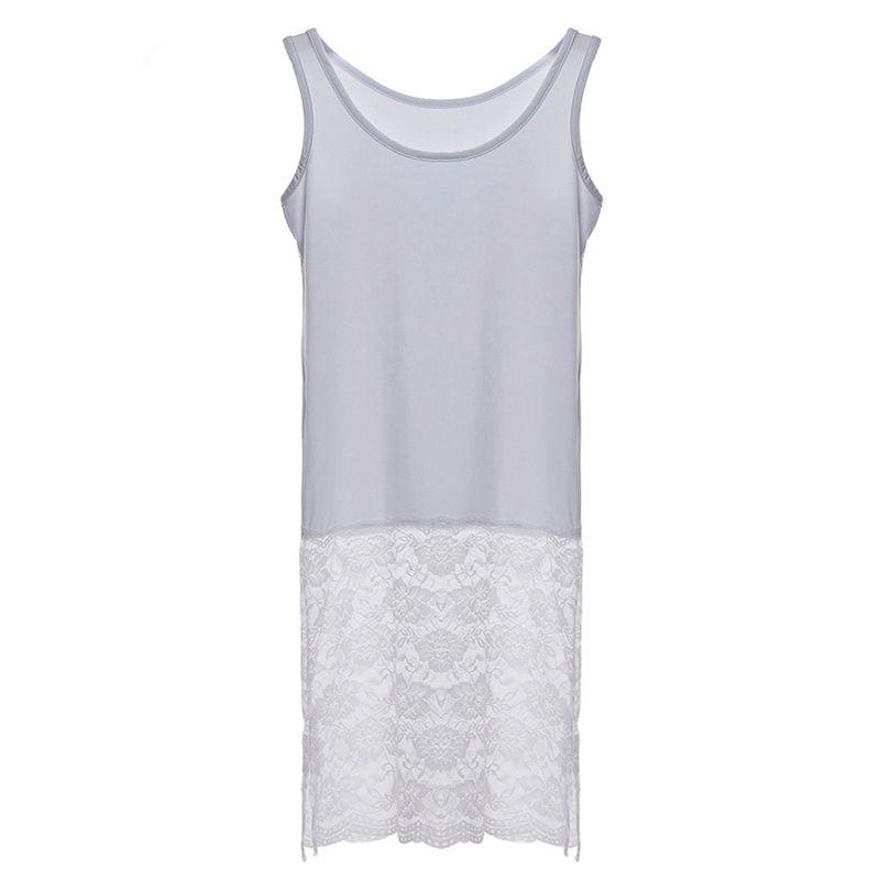 f584ddc95576b 2016 best goods 2016 Women Sexy Lace Sleeveless Stitching Dress ...
