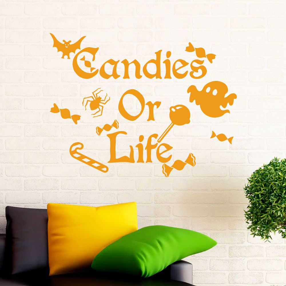 Awesome Candy Wall Decor Sketch - The Wall Art Decorations ...