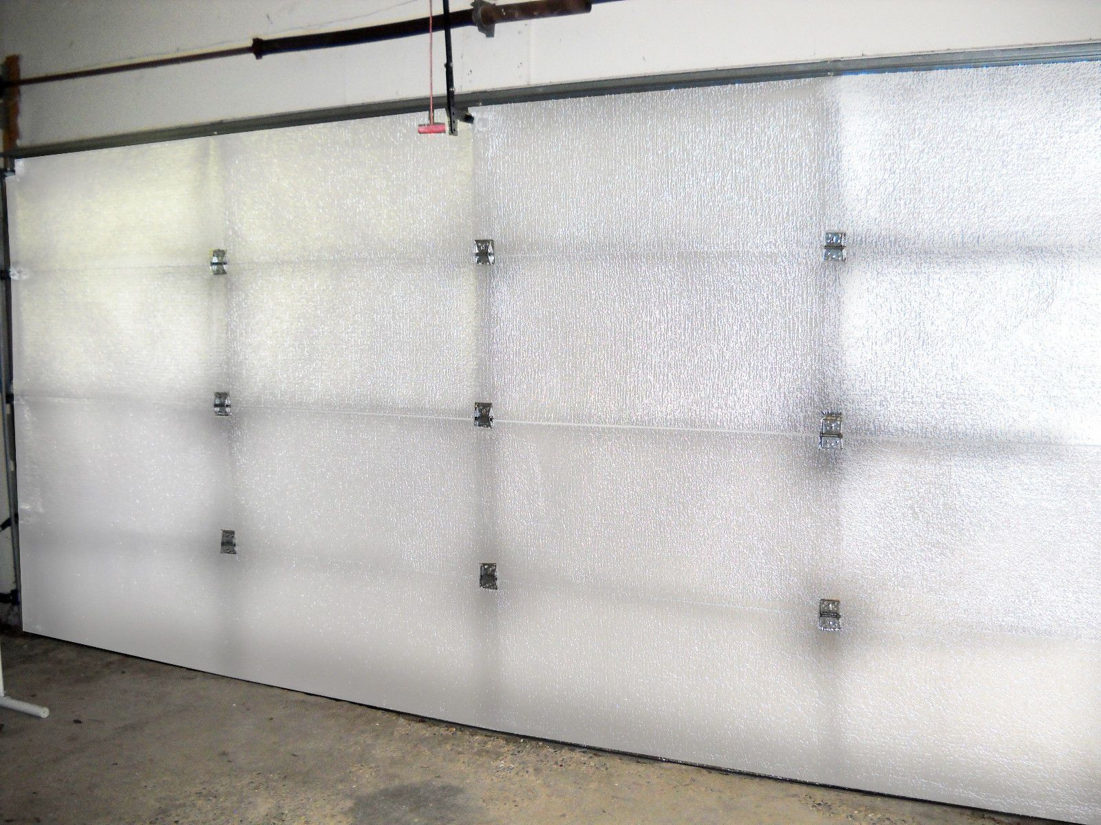 Nasa Tech White Reflective Foam Core 1 Car Garage Door Insulation Kit 9x7 9x8 Ebay Garage Door Insulation Kit Garage Door Design Garage Door Insulation