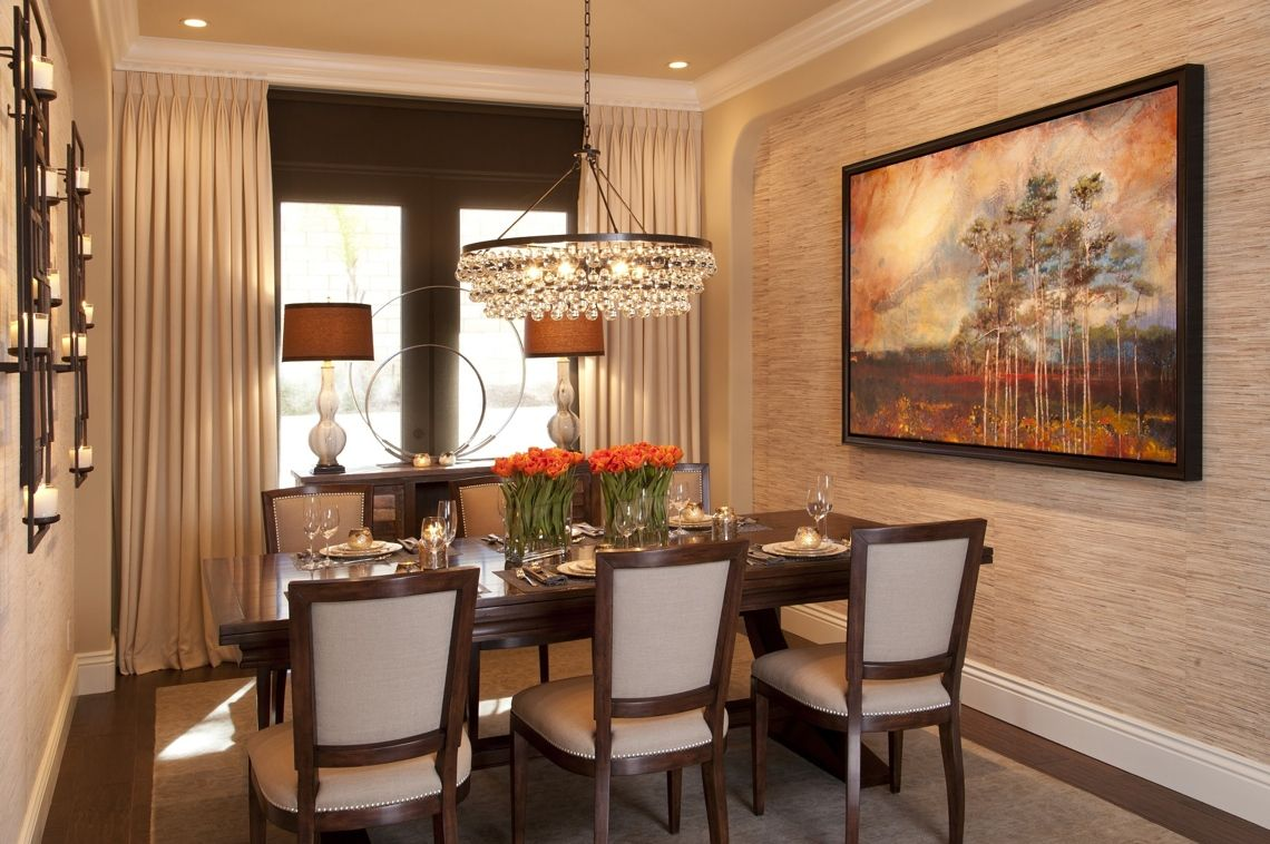 20 Stunning Transitional Dining Design ideas | Dining room ...