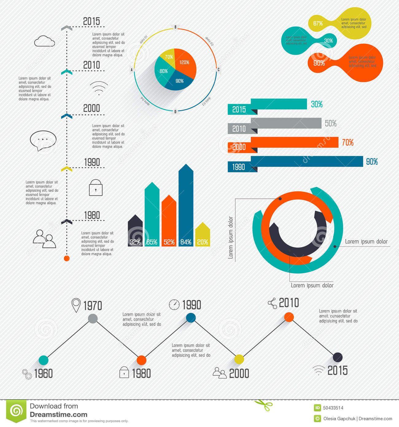 settimelineinfographicdesigntemplateschartsdiagrams