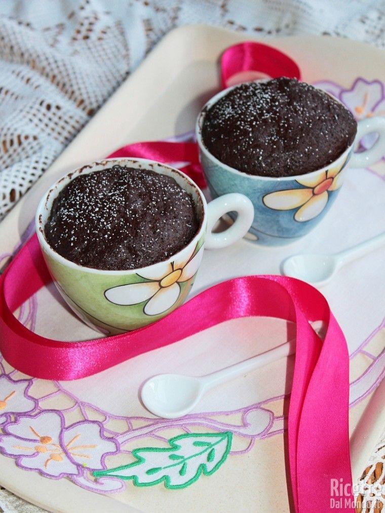 Mug Cake - Torta al Cioccolato in Tazza #mugcake