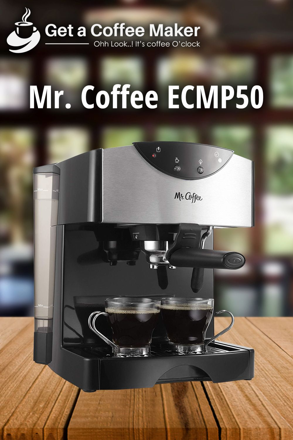 Mr. Coffee ECMP50 Review (With images) Coffee, Cheap