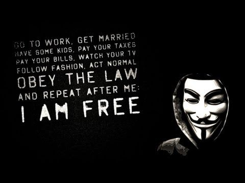 Guy Fawkes Quote Wallpaper Anonymous Message Obey The Law And Repeat After Me I Am