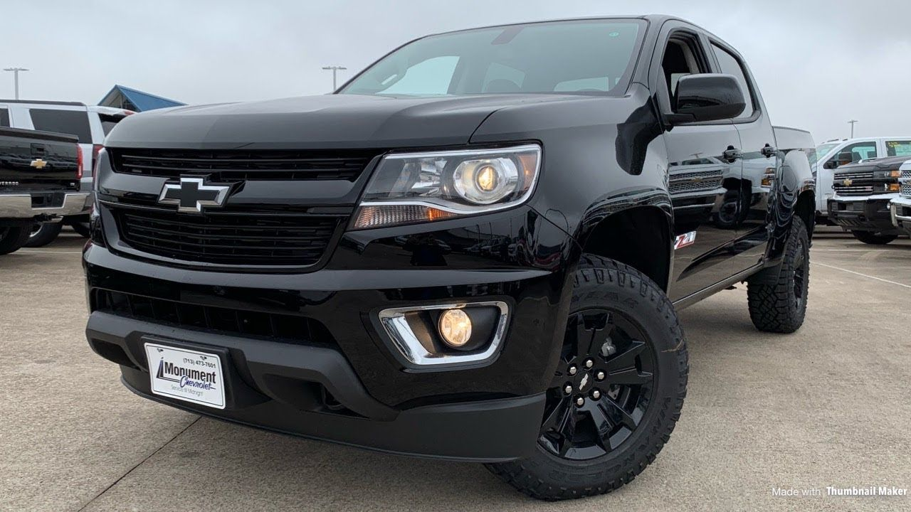 Review 2019 Chevrolet Colorado Crew Cab Z71 Midnight Edition And Images Feels Free To Follow Us Di 2020