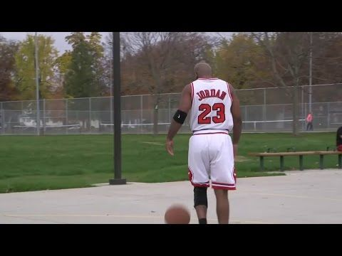 8e5e46453158 Michael Jordan Surprises Biggest Fan