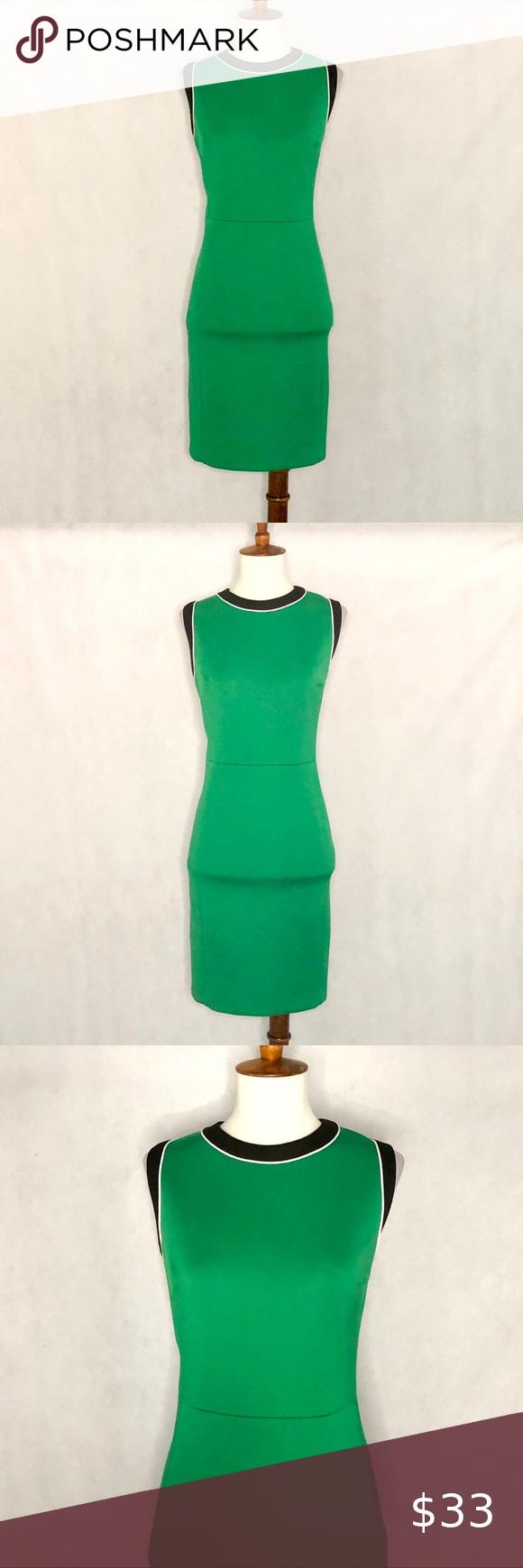 Vince Camuto Sleeveless Scuba Knit Sheath Dress Knit Sheath Dress Slim Fit Skirts Scuba Knit [ 1740 x 580 Pixel ]