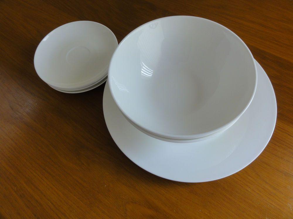 Details About Ciroa White Porcelain Bone China Australian Saucer Large Plate Pasta Bowl China Crockery Plates Large Plates