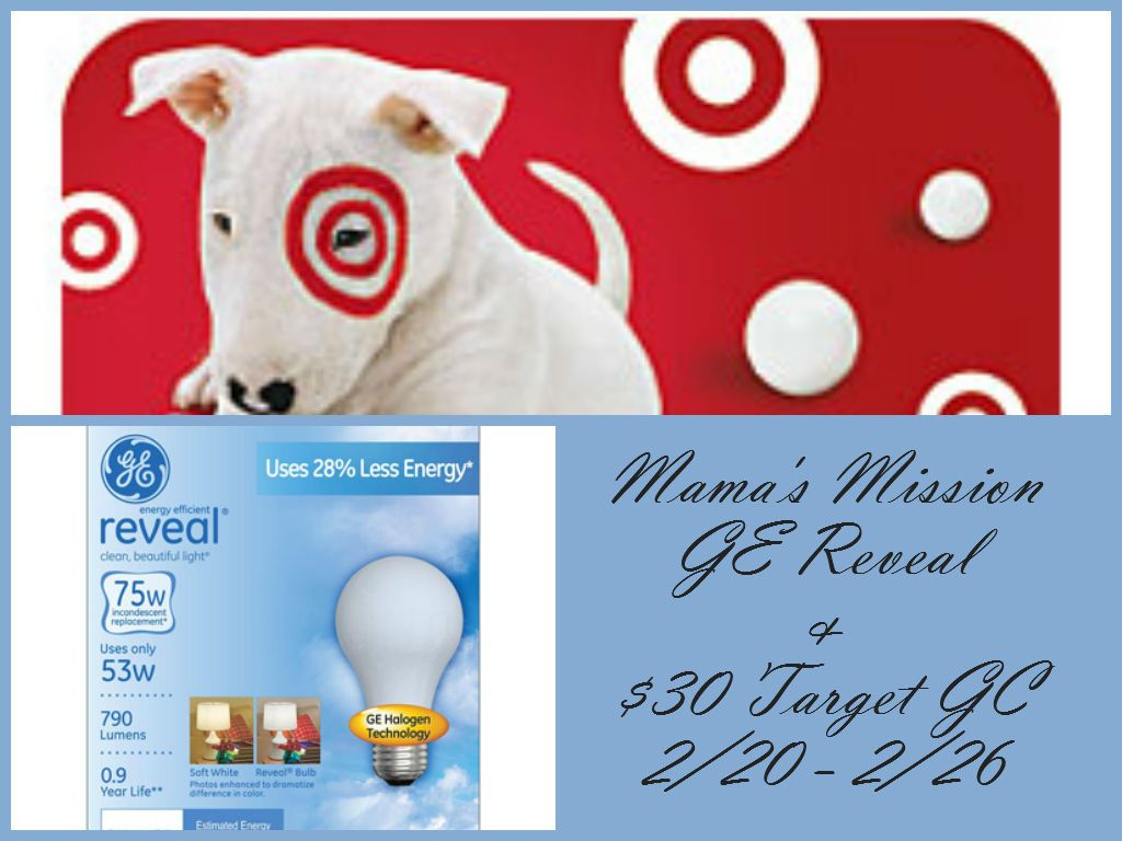 Mamas mission you to the ge reveal bulbs 30