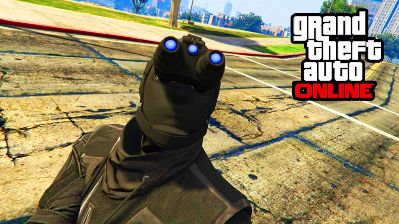 Gta 5 online night vision in freeroam tutorial gta 5 heist grand theft auto v online nightvision gear usable in free mode night vision can actually be useful at night and at day can give you a challenge to play baditri Gallery