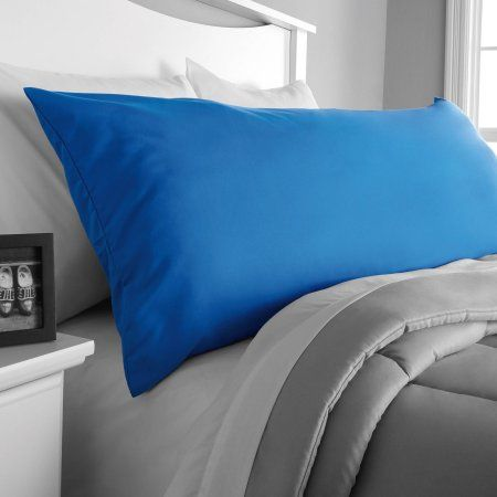 Body Pillow Covers Walmart New Mainstays Microfiber Body Pillow Cover Blue  Body Pillow Covers Review