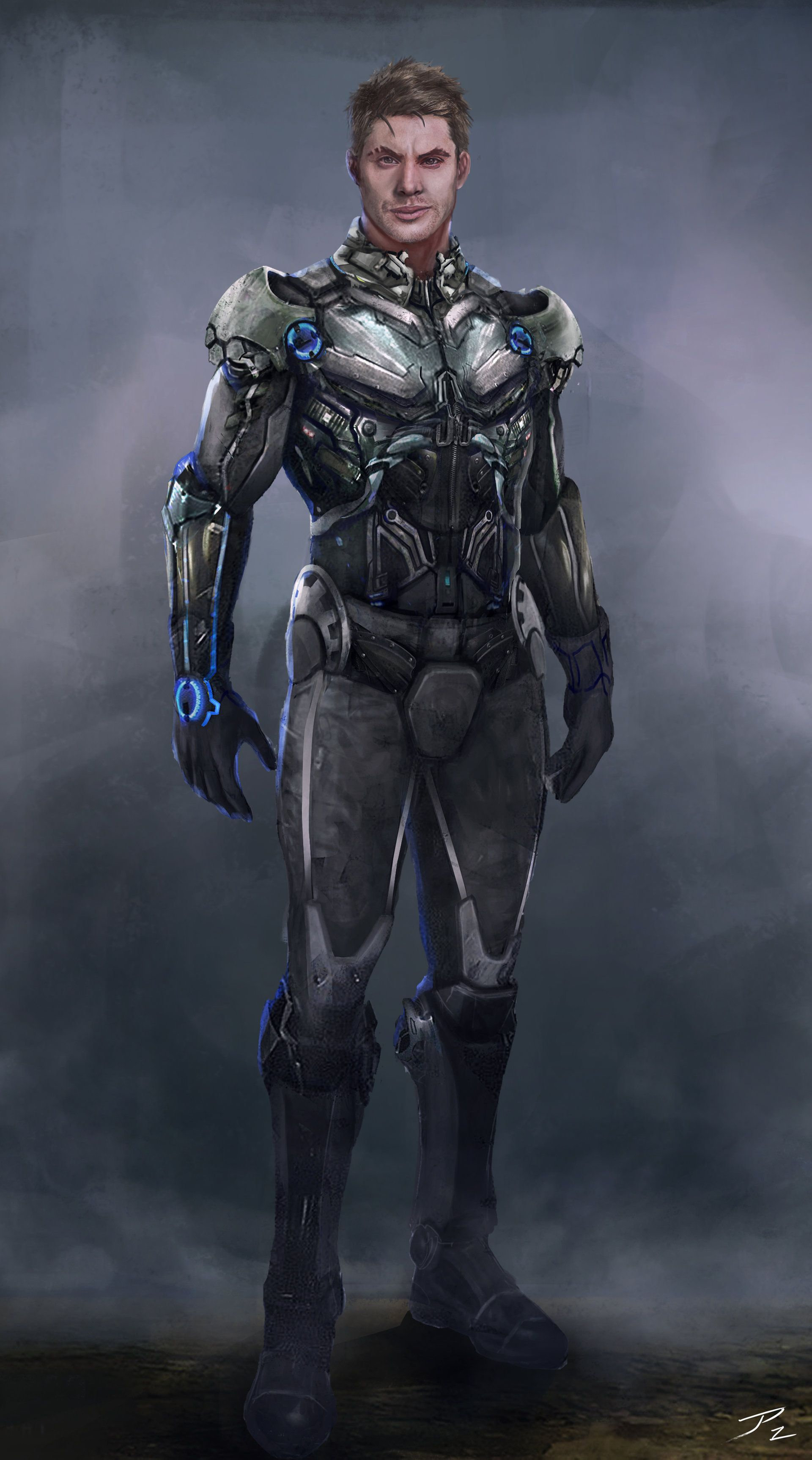 ArtStation Scifi soldier suit., Juan Pablo Lozano Sci
