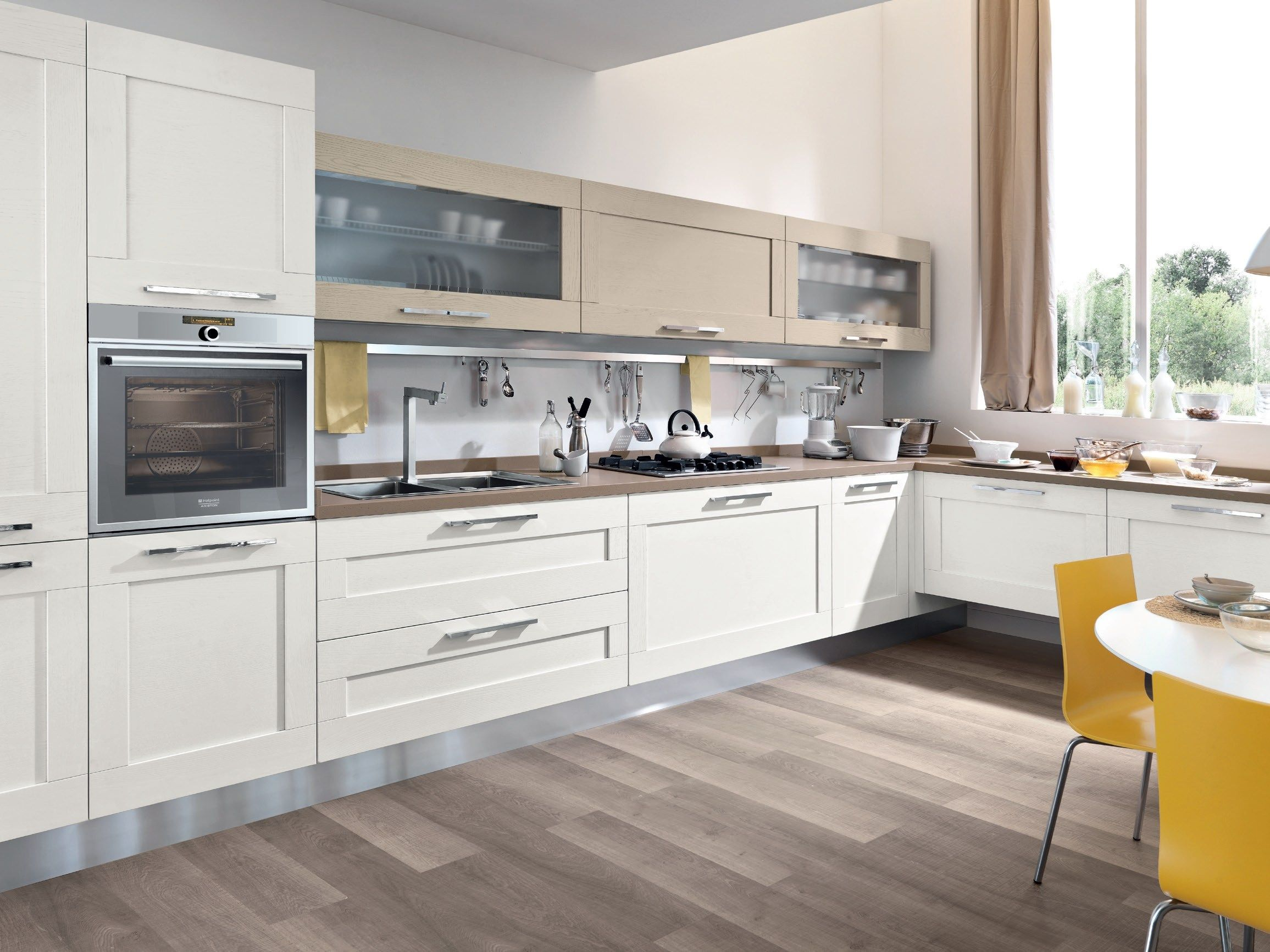 CLAUDIA - Cucina Lube Classica | Solid wood kitchens, Solid wood ...
