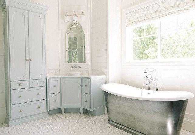 blue bathroom cabinet blue bathroom cabinet paint color blue rh pinterest ca