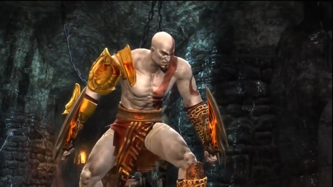 mortal kombat 9 - kratos expert ladder | mortal kombat madness