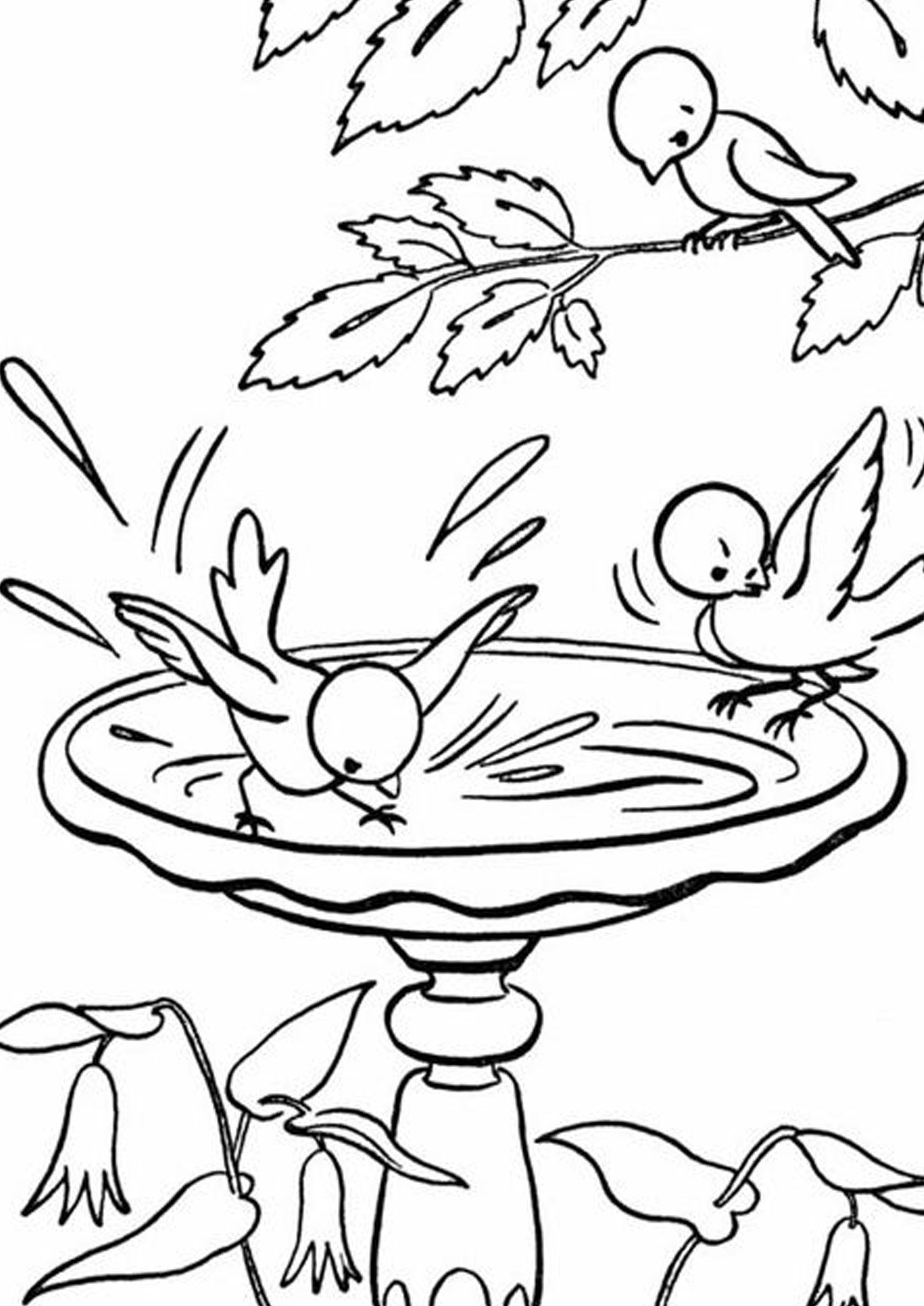 Free & Easy To Print Bird Coloring Pages in 2020 Bird