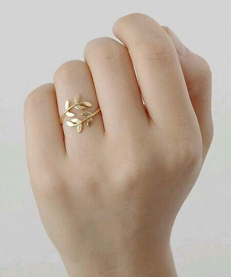 Leaf ring AcCeSsoRIZE ME Pinterest