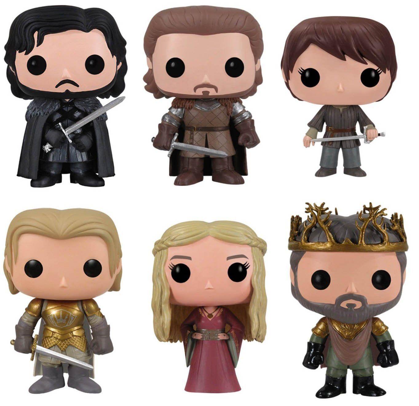 Game Of Thrones Jon Snow, Robb Stark, Arya Stark, Jamie