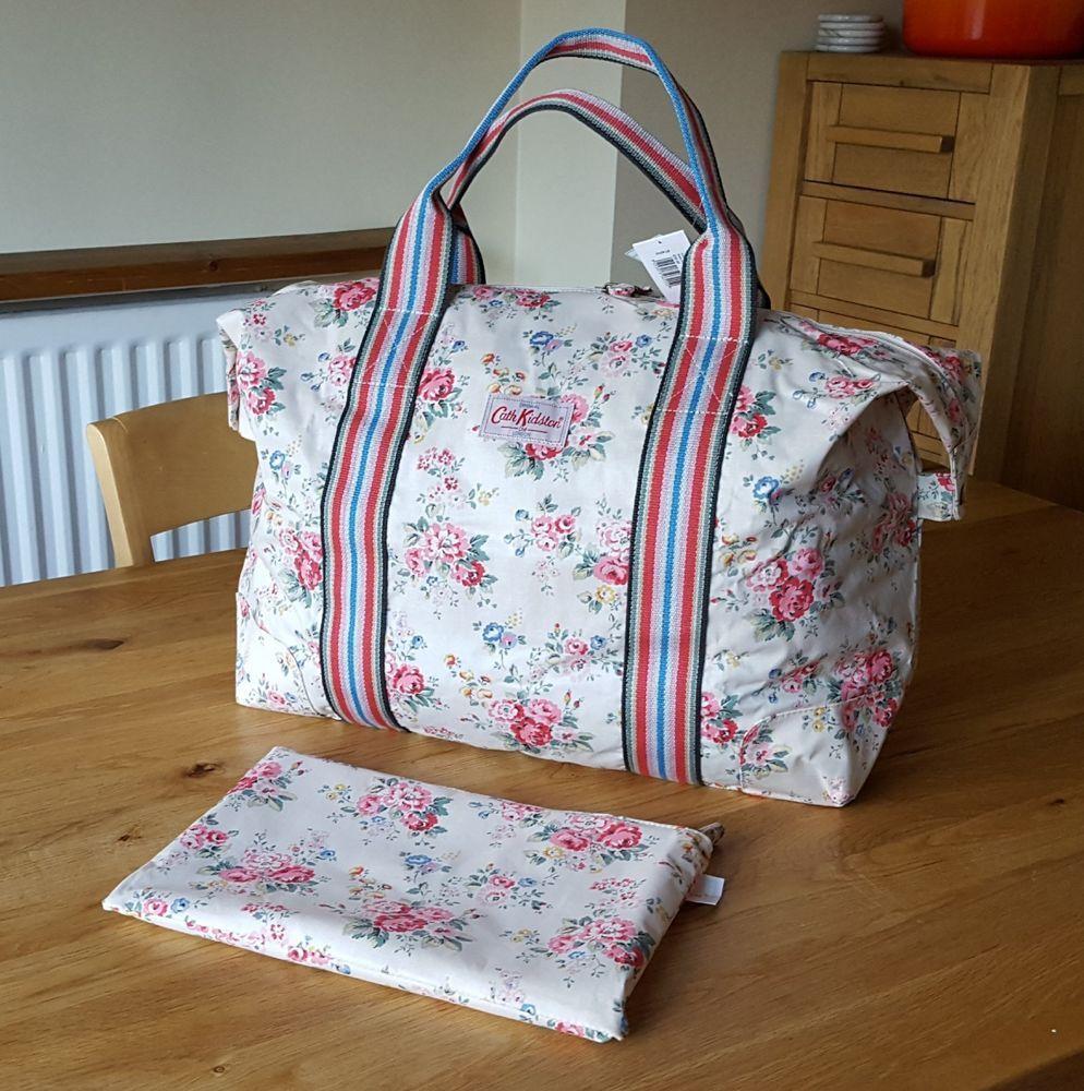 95baaff40d307 Cath Kidston - Foldaway Travel Bag - spray flower - Brand New ...