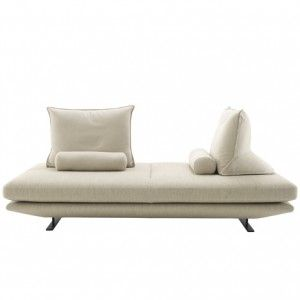 Prado Sofa With Movable Backrest Cushions By Christian Werner For