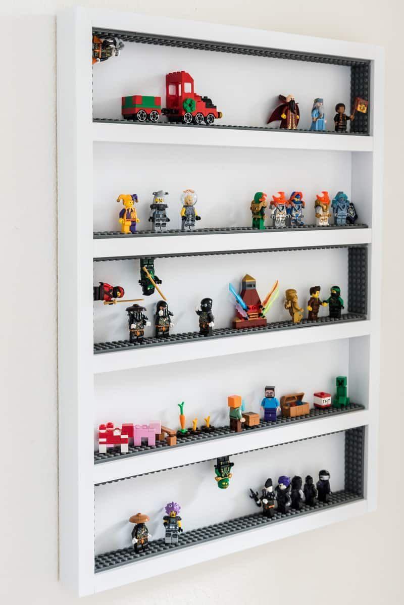 bricolage lego figurine de vitrine