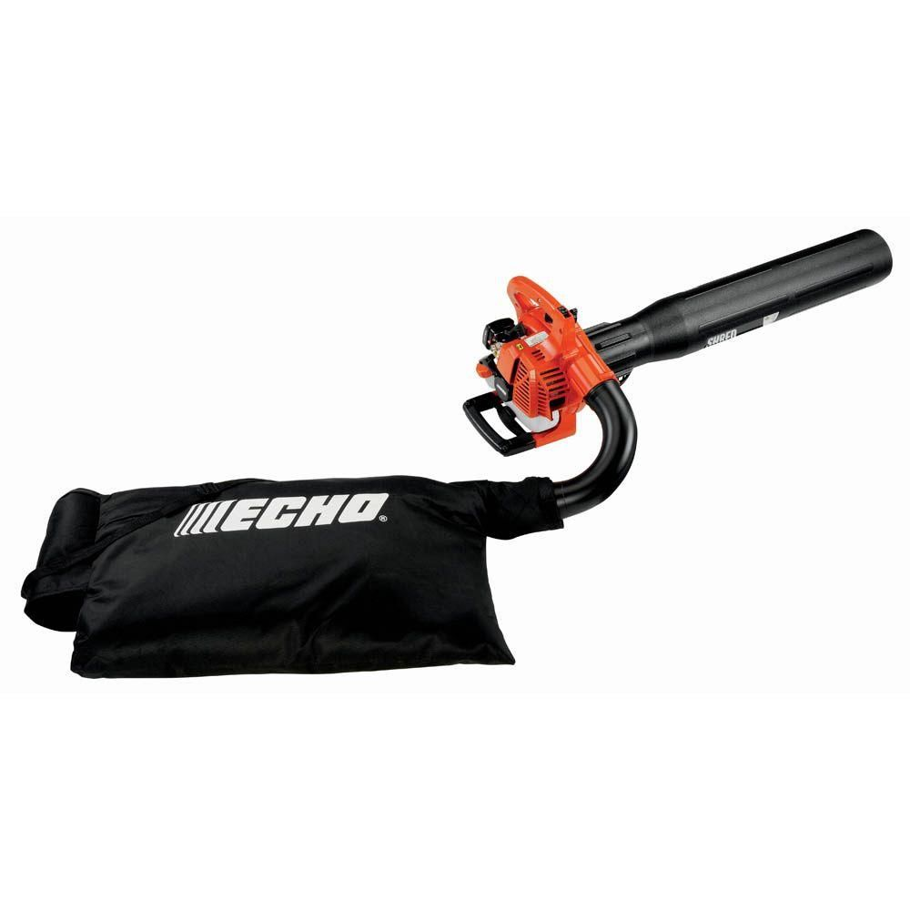 Echo 165 Mph 391 Cfm 25 4 Cc Gas 2 Stroke Cycle Leaf Blower Vacuum Es 250aa The Home Depot Gas Blowers Blowers Leaf Blower