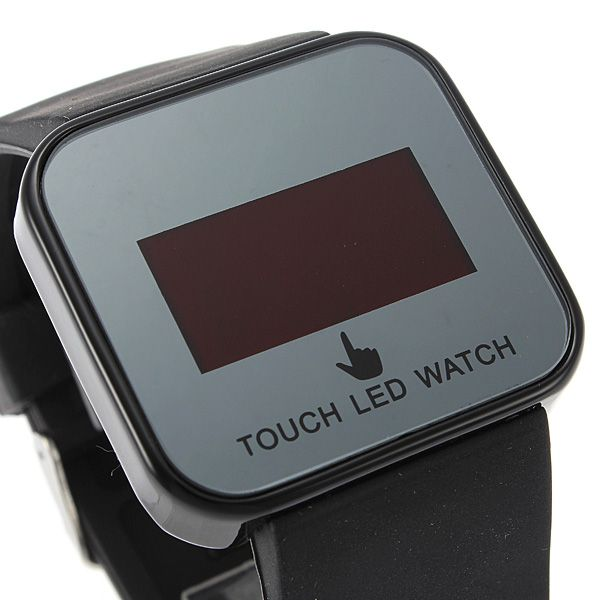 Unisex Touch Screen Led Wrist Watch