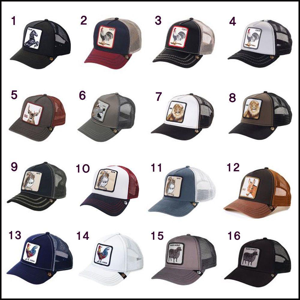 New Goorin Bros Original Animal Farm Trucker Black Sheep Hat Snapback Cap Defect