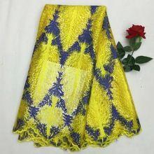 Französisch tüll stoff zum nähen kleid hohe qualität nigerianischen stoff n15122910(China (Mainland))
