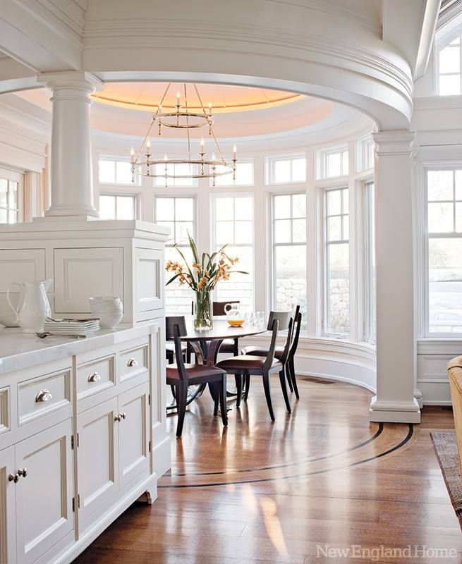 50 Cool Bay Window Decorating Ideas: This Is A Great Design With The Dining Area Iby The Bay