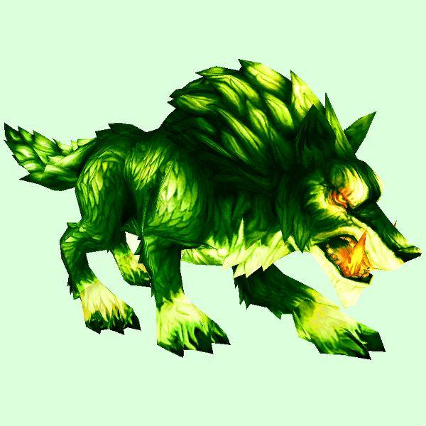 Fel Draenor Wolf