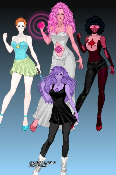 X Men Crystal Gems By Bloodrain Created Using The X