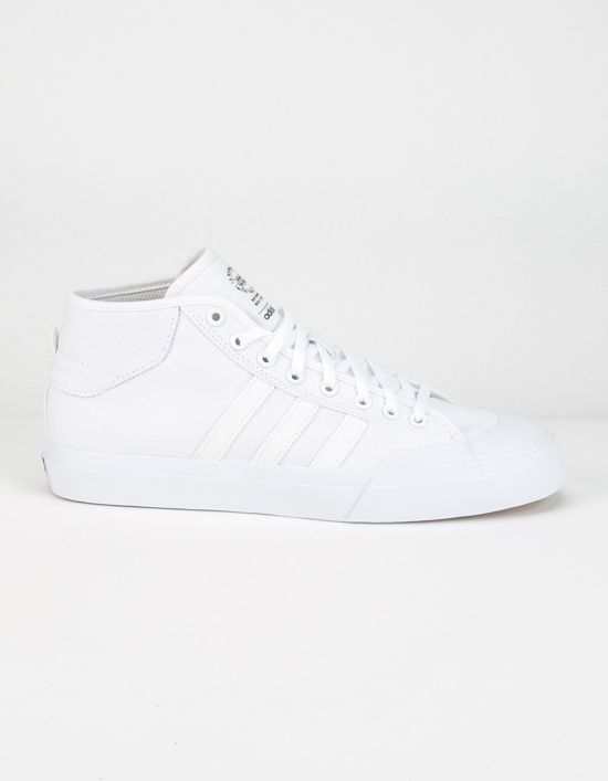official photos ff1ef a7e14 adidas Matchcourt Mid - Tags sneakers, hi-tops, all white